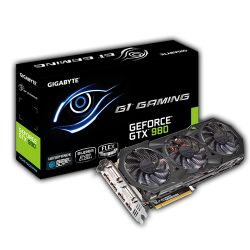 Carte video GIGABYTE GTX N980G1-GAMING 4GD